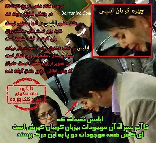 فیلم دستگیری مرسده ملکشاهی دختر متهم به سگ آزاری + عکس