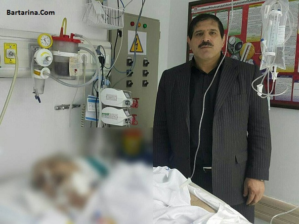 عکس جنجالی عباس جدیدی کنار جسم بی جان منصور پورحیدری