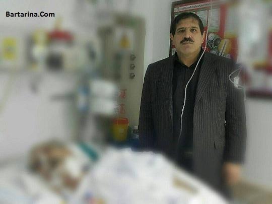 دومین عکس جنجالی عباس جدیدی با مرحوم منصور پورحیدری
