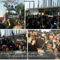 فیلم محمود احمدی نژاد بین مردم شوش در روز اربعین ۳۰ آبان ۹۵