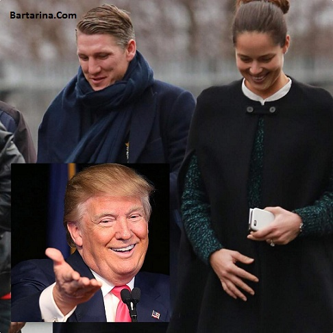 عکس آنا ایوانوویچ تنیسور صربستانی معشوقه جدید دونالد ترامپ