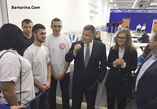 عکس های برهنه آناستازیا دیوا وزیر زن اوکراین لو رفت