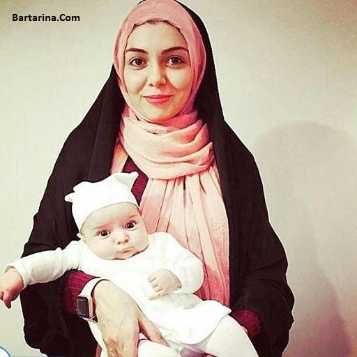 عکس جدید گندم عبادی دختر آزاده نامداری برای اولین بار