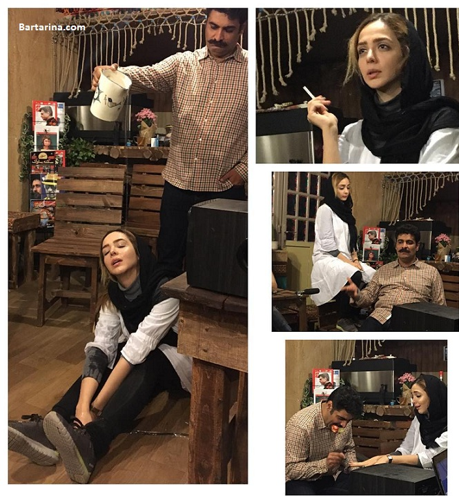 عکس المیرا دهقانی بازیگر مریم مادر احسان هشت و نیم دقیقه