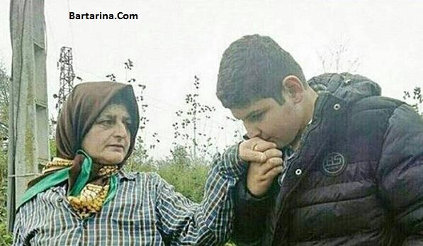 فیلم مصاحبه مسیح علی نژاد با رحمت پسر زن دستفروش فومنی