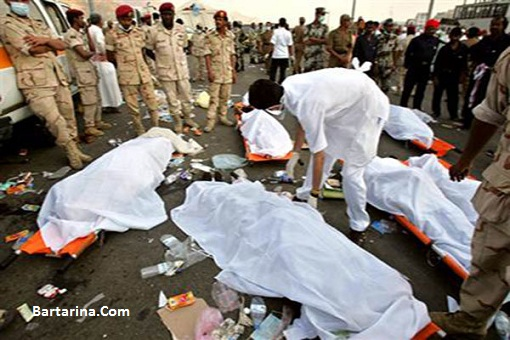 عکس 18+ کشف جسد یک حاجی در مکه بعد یک سال از فاجعه منا