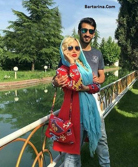 عکس های جدید حسین ماهینی بازیکن پرسپولیس و همسرش