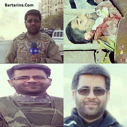 عکس به شهادت رسیدن محسن خزایی خبرنگار در حلب سوریه + فیلم