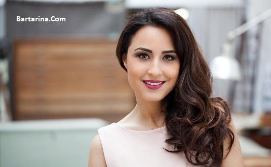 عکس های نینا مقدم دختر ایرانی شبکه آرتی ال آلمان