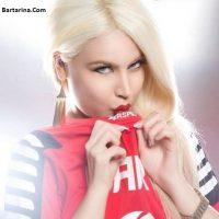 عکس پریا عرب زاده مدل زیبای پرسپولیسی ساکن امارات + بیوگرافی
