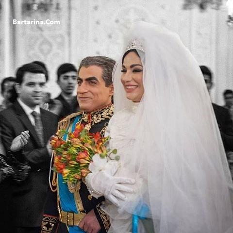 گفتگو با ساغر عزیزی بازیگر فرح دیبا سریال معمای شاه + عکس