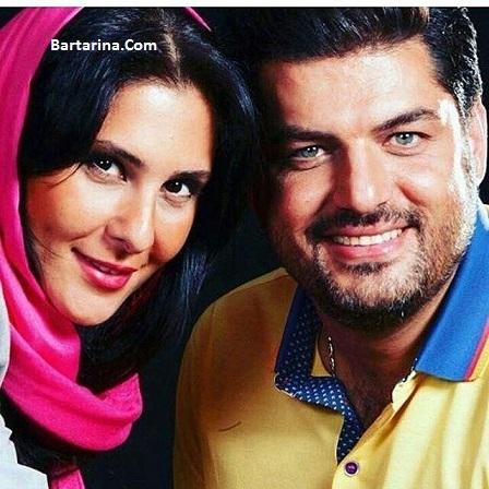 عکس سام درخشانی بازیگر سریال هشت و نیم دقیقه و همسرش عسل