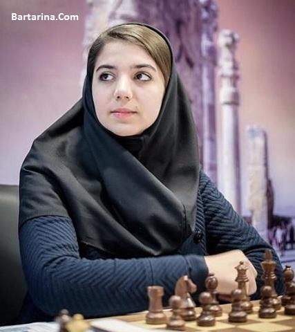 عکس های سارا خادم الشریعه استاد بزرگ شطرنج و همسرش