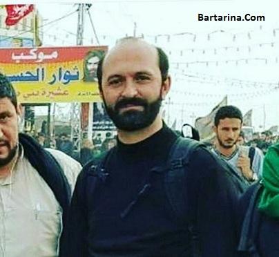 عکس حاج سعید طوسی قاری جنجالی در راهپیمایی پیاده روی اربعین