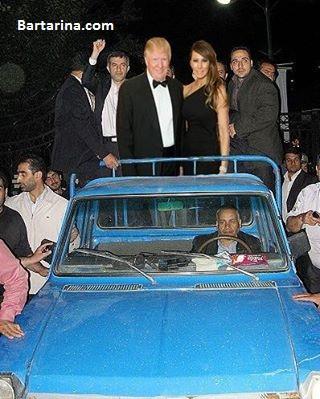 عکس حضور و سفر دونالد ترامپ رئیس جمهور آمریکا به ایران