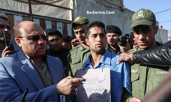 عکس های دستگیری امیر غربت لات و شرور معروف مشهد