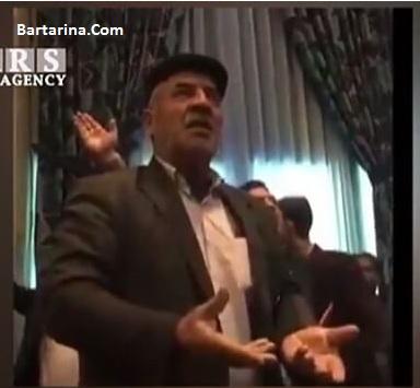 فیلم دعوا در سخنرانی معصومه ابتکار در جمع کشاورزان اصفهانی