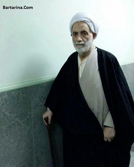 استاد محسن قرائتی امروز 26 آذر 95 از بیمارستان مرخص شد + عکس