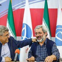 فیلم مناظره عباس سلیمی نمین و محمد علی وکیلی ۱۵ آذر ۹۵