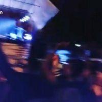 فیلم رقص مختلط جشن تولد پیامبر در پارک ملل ساری با آهنگ معین