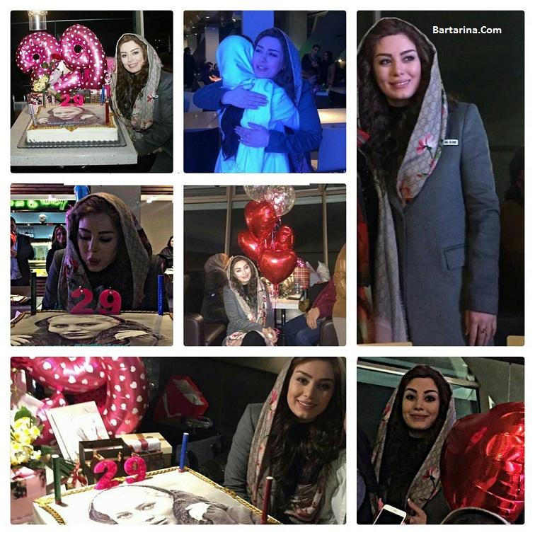 عکس های جنجالی جشن تولد 29 سالگی سحر قریشی در برج میلاد