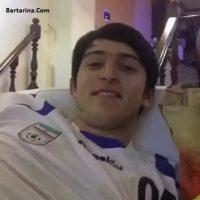 فیلم چالش مانکن سردار آزمون به همراه بازیکنان روستوف