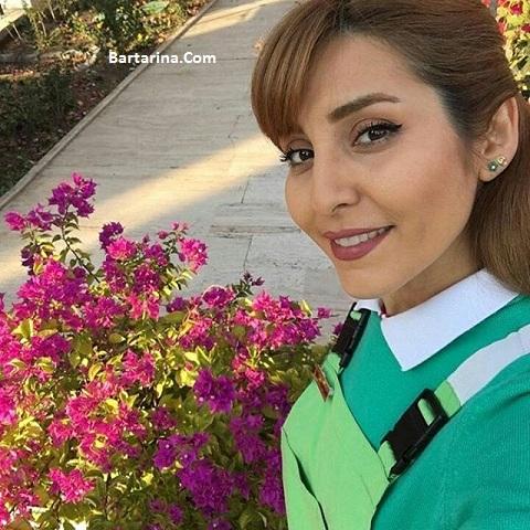 عکس شیدا مرادی بازیگر نقش مریم باغبان سریال شهر قشنگ جم