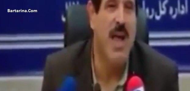 فیلم حرکات عجیب و خنده دار عباس جدیدی در نشست خبری