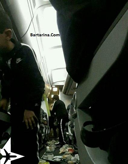 فیلم درگیری مسافران هواپیمای تهران دبی بعد از فرود اضطراری
