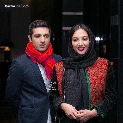 عکس اشکان خطیبی و همسرش آناهیتا درگاهی عروس سابق علی پروین