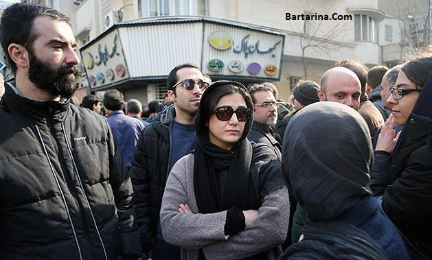 عکس های باران کوثری در مراسم تشییع آیت الله هاشمی رفسنجانی
