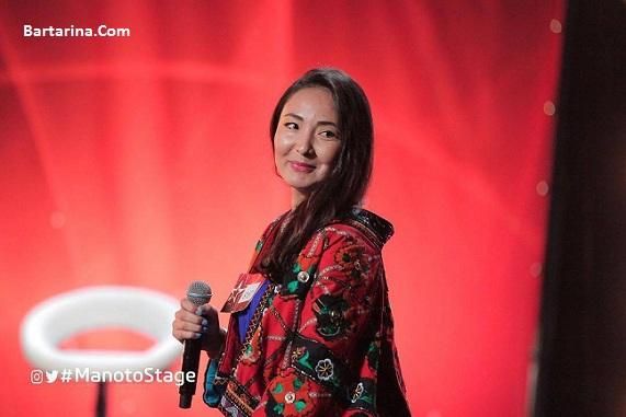 عکس اجرای الهه سرور خواننده افغانی برنامه استیج 2017