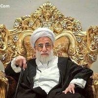 خبر بستری شدن آیت الله جنتی در بیمارستان ۲ بهمن ۹۵ + عکس