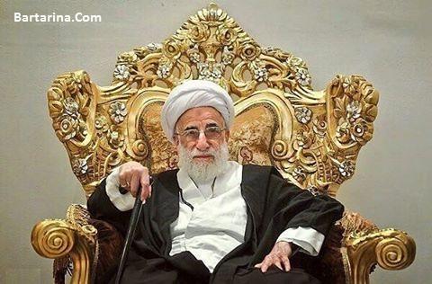 خبر بستری شدن آیت الله جنتی در بیمارستان 2 بهمن 95 + عکس