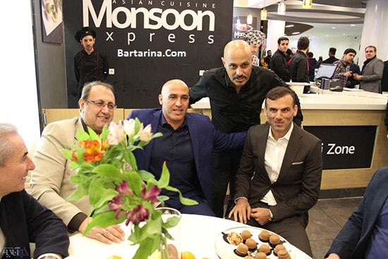 عکس های مراسم افتتاحیه رستوران جدید علیرضا منصوریان