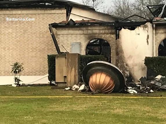 عکس های آتش زدن یک مسجد در تگزاس آمریکا در دولت ترامپ