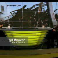 فیلم دکلمه فردوسی پور با موسیقی مایکل جکسون در برنامه نود