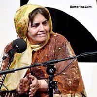 فیلم تک خوانی پروین بهمنی خواننده زن در جشنواره موسیقی فجر