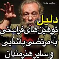 فیلم دلیل توهین مسعود فراستی به مرتضی پاشایی