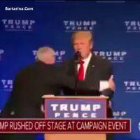 فیلم ترور نافرجام ترامپ رئیس جمهور آمریکا + دلیل ترور ترامپ
