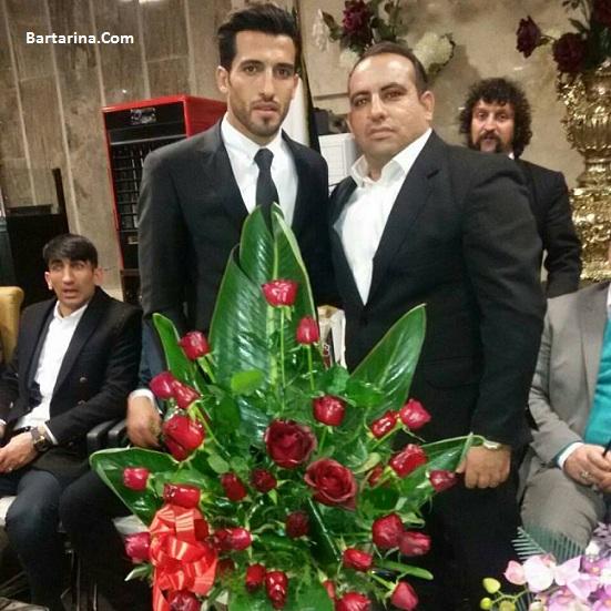 فیلم عروسی وحید امیری در خرم آباد + عکس ازدواج وحید امیری