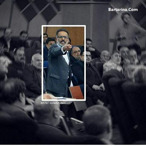 فیلم فریادهای علی ساری نماینده اهواز بر سر معصومه ابتکار