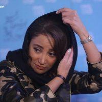 عکس مانتو و لباس ارتشی بهاره افشاری در جشنواره فیلم فجر ۹۵