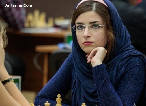 فیلم کشف حجاب درسا درخشانی شطرنج باز ایرانی + برنا درخشانی
