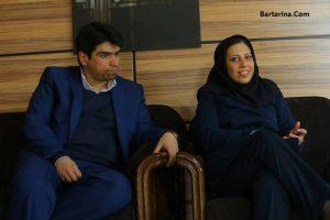 احسان مازندرانی امروز شنبه 23 بهمن 95 از زندان آزاد شد