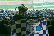 عکس دختر استقلالی در ورزشگاه آزادی روز دربی ۲۴ بهمن ۹۵
