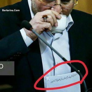 ماجرای دست نوشته کاغذی قالیباف در جلسه شورای شهر پلاسکو
