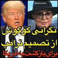 فیلم زندانی شدن گوگوش در لندن به دلیل قانون جدید ترامپ