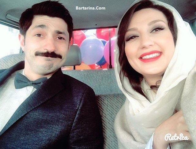 عکس ازدواج حدیث میرامینی و مجتبی رجبی + عروسی حدیث میر امینی