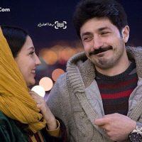 عکس حدیث میرامینی و همسرش مجتبی رجبی در جشنواره فجر ۹۵